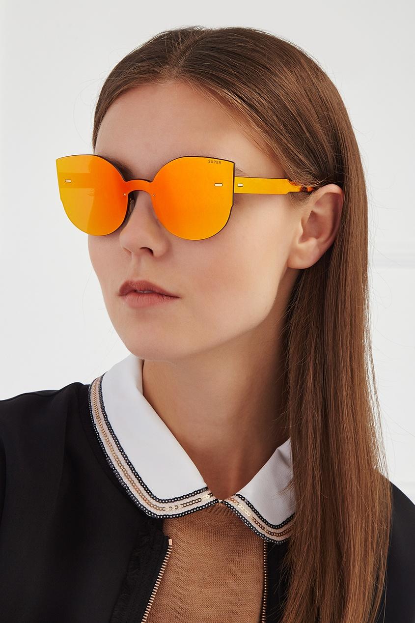 RETROSUPERFUTURE Солнцезащитные очки Tuttolente Lucia Red n26 tuttolente lucia black regular