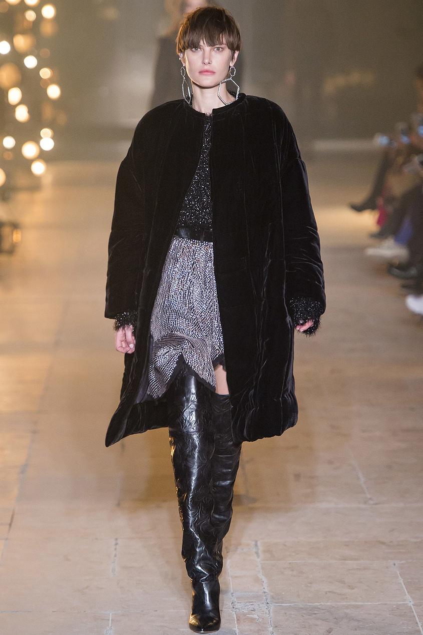 Бархатное пальто Tao