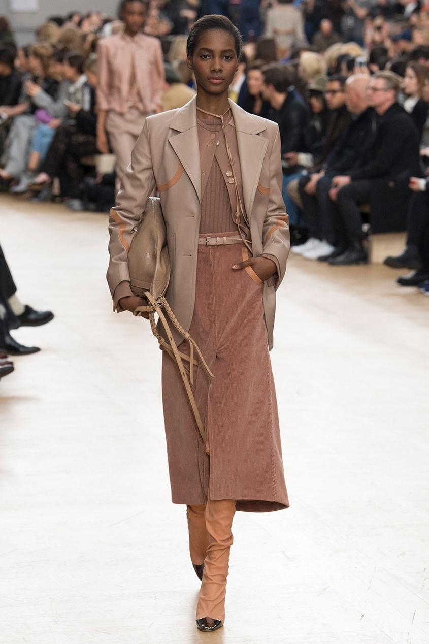 Вельветовая юбка-колокол