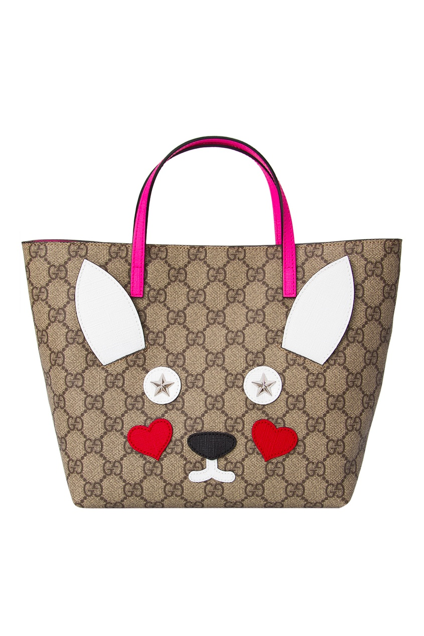 Gucci Children Сумка Rabbit Tote сумка 2015 empreinte st germain tote al009 fashion bus