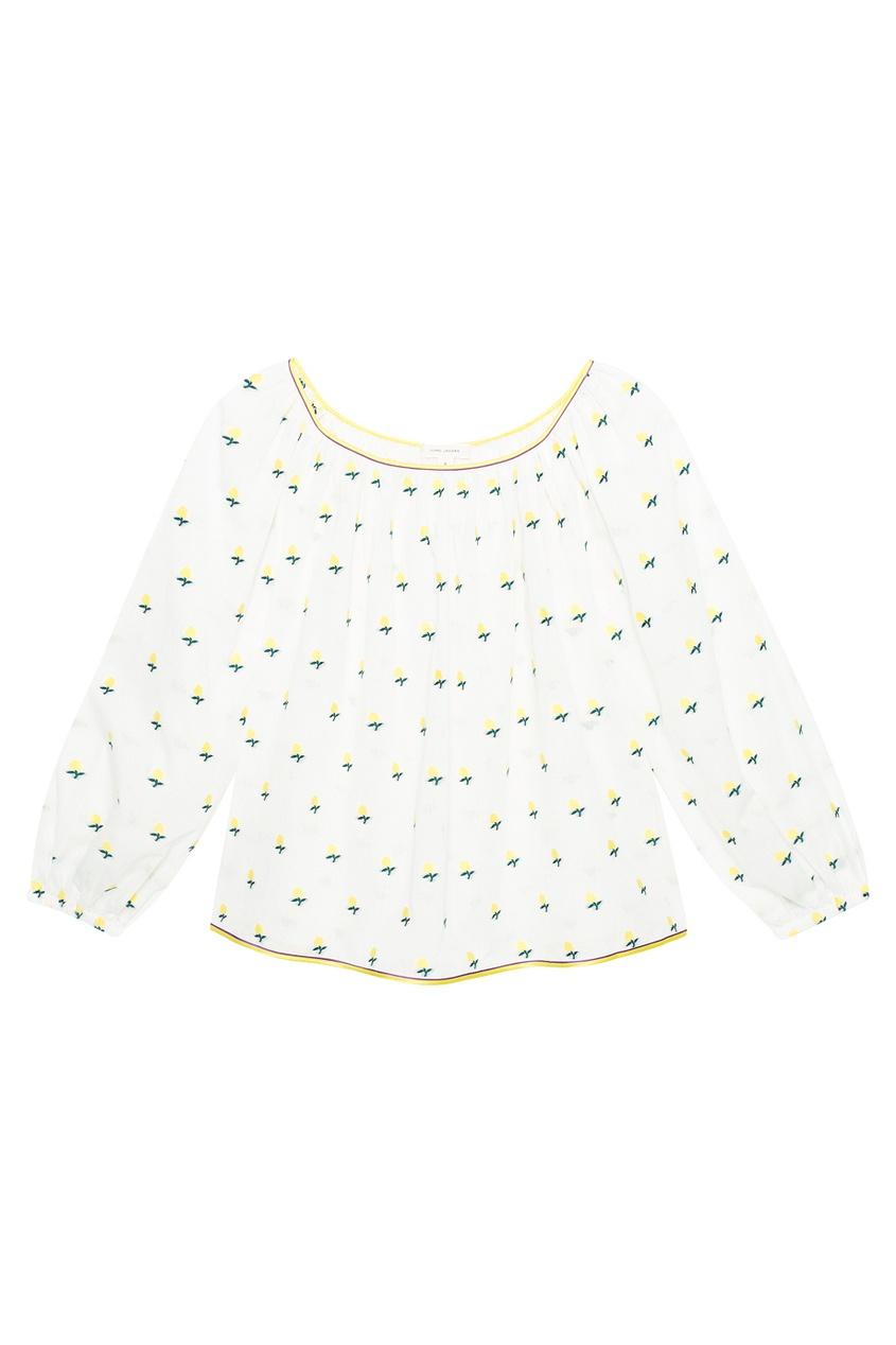 Marc Jacobs Хлопковая блузка marc cain блузка