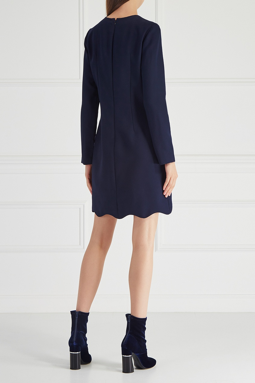 цена Carven Однотонное платье онлайн в 2017 году
