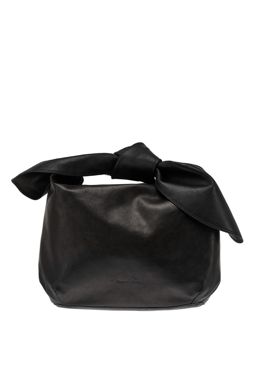Кожаная сумка-хобо