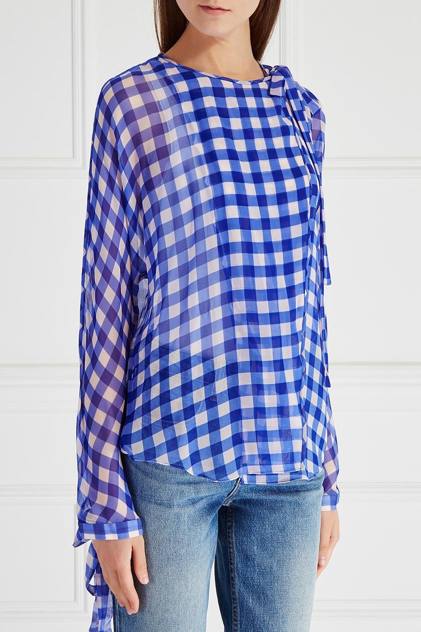 Diane von Furstenberg Шелковая блузка diane von furstenberg шелковая блузка gilmore habotai