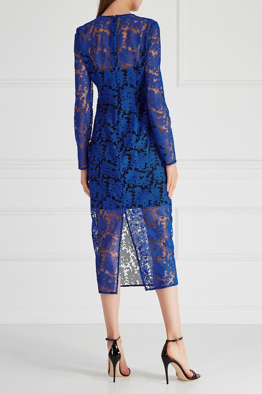 Diane von Furstenberg Шелковое платье diane von furstenberg шелковое платье adrienne