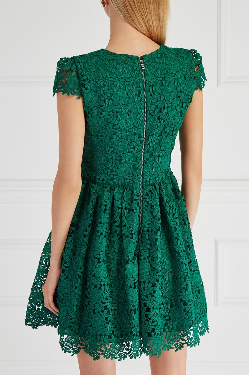Alice + Olivia Кружевное платье босоножки alice olivia q01538032 alice olivia