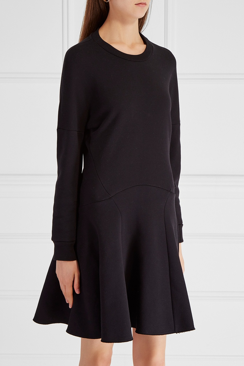 Alexander McQueen Хлопковое платье