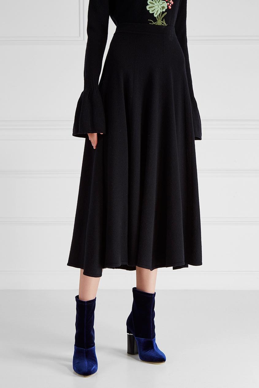 Кашемировая юбка