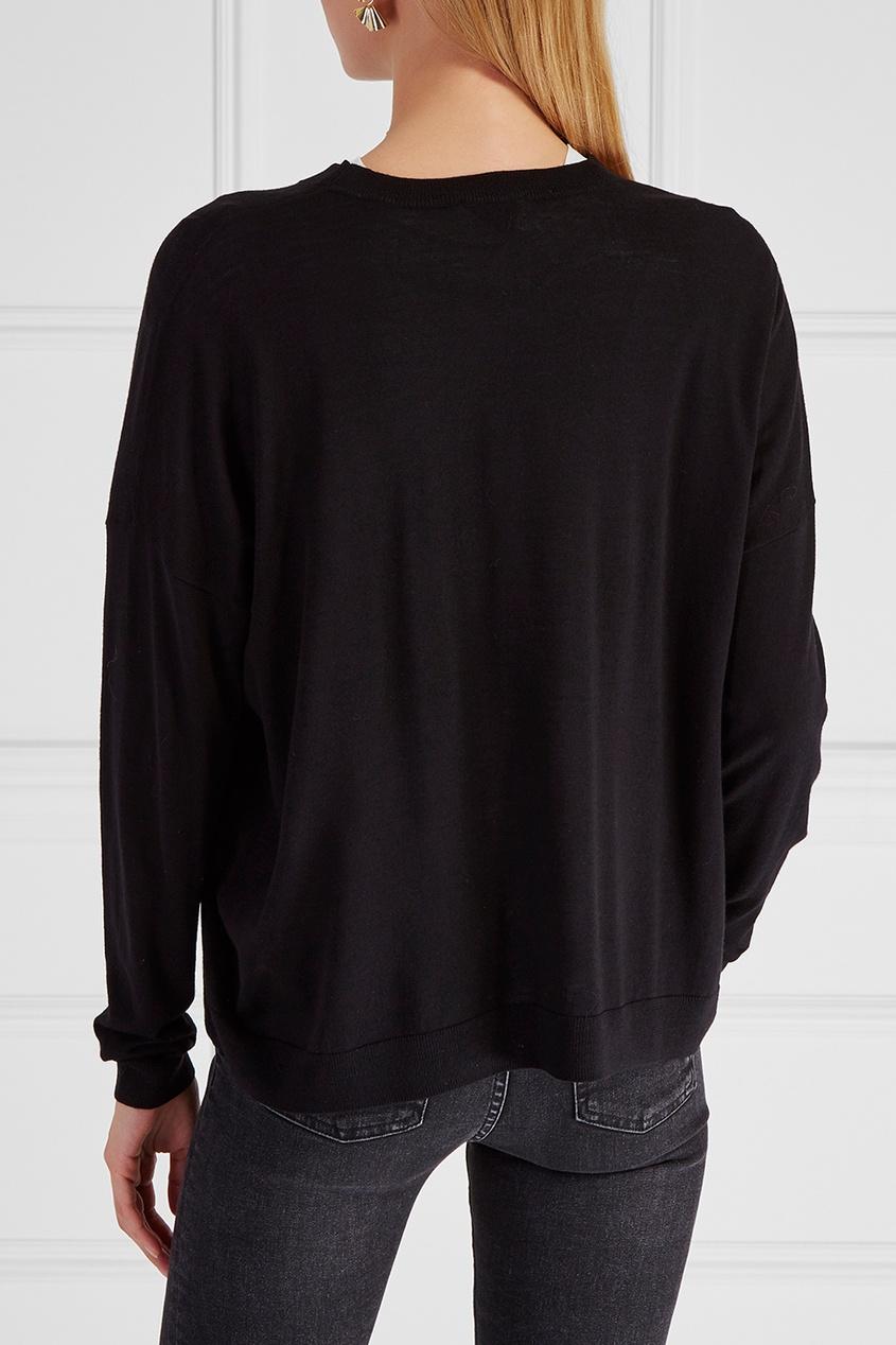 Шерстяной пуловер Karel