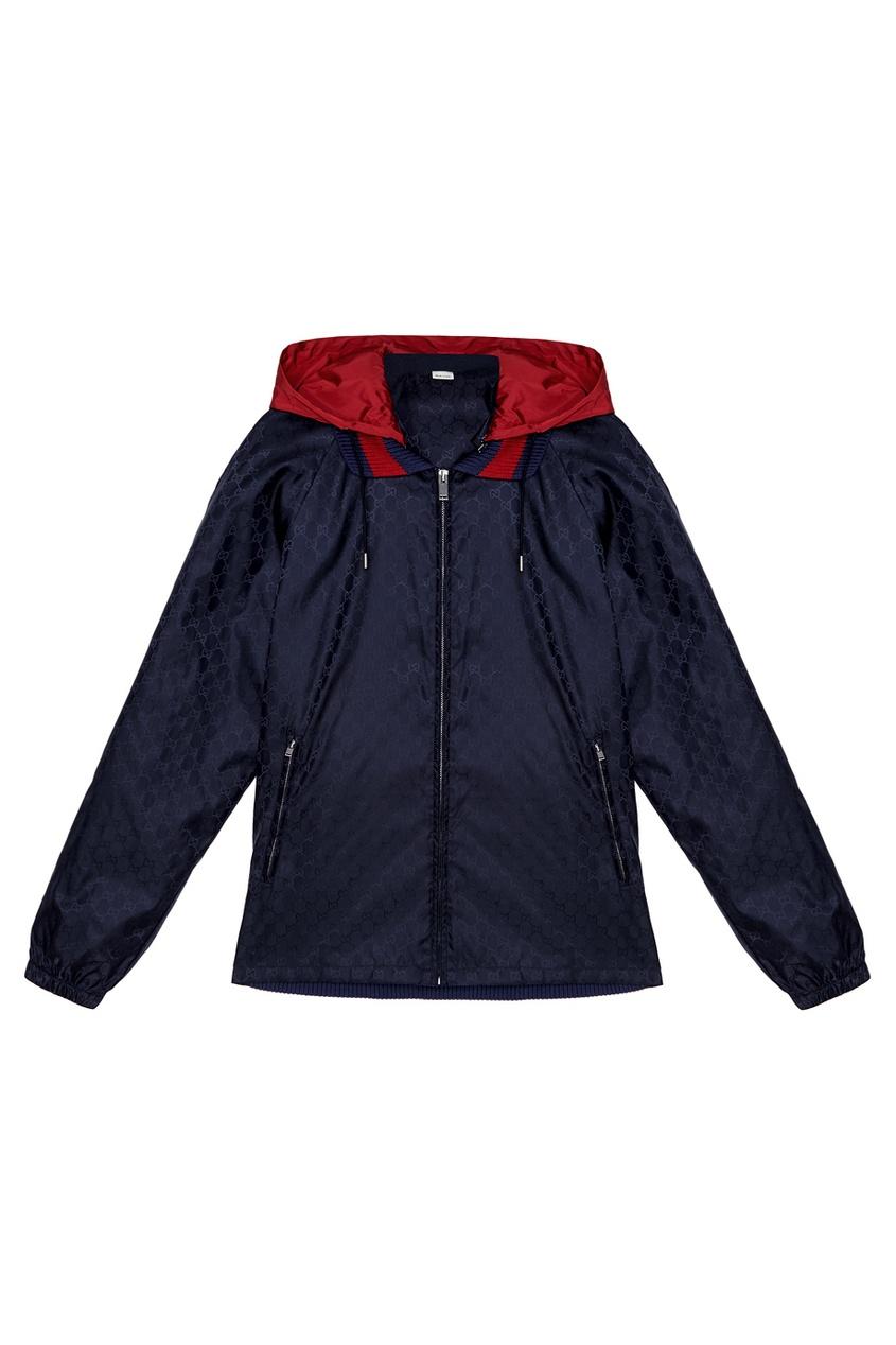 Однотонная куртка