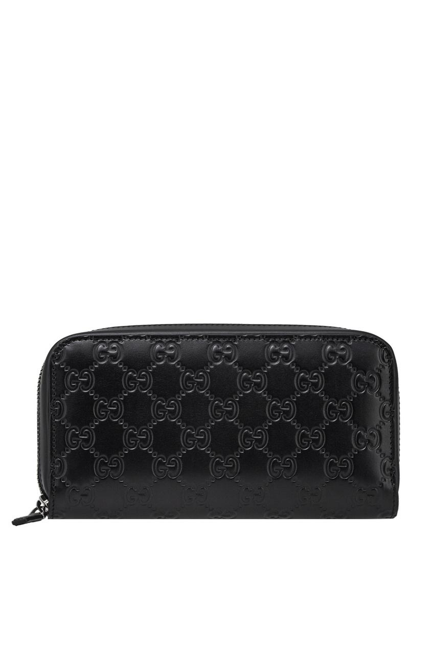 Gucci Кожаное портмоне портмоне мужское кожаное naijie nj605