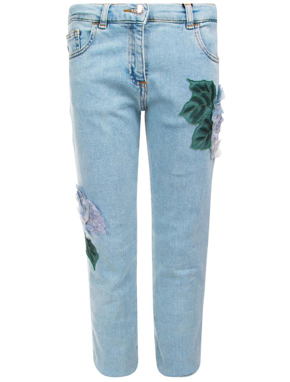 Декорированные джинсы