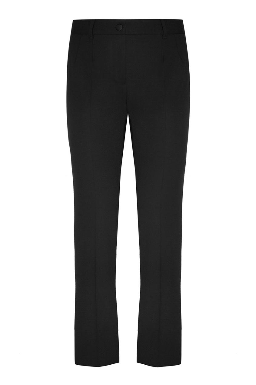 цена  Dolce&Gabbana Однотонные брюки  онлайн в 2017 году
