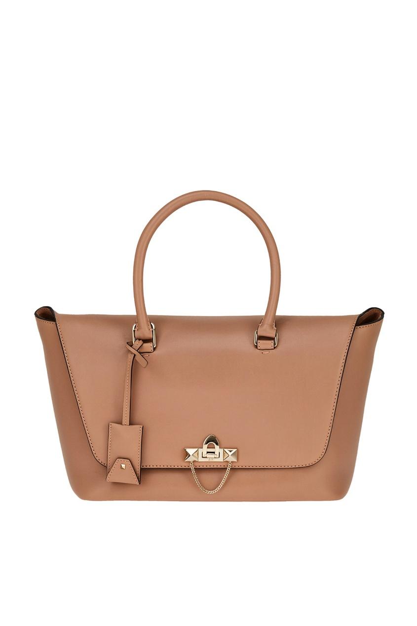 Кожаная сумка-тоут Demilune