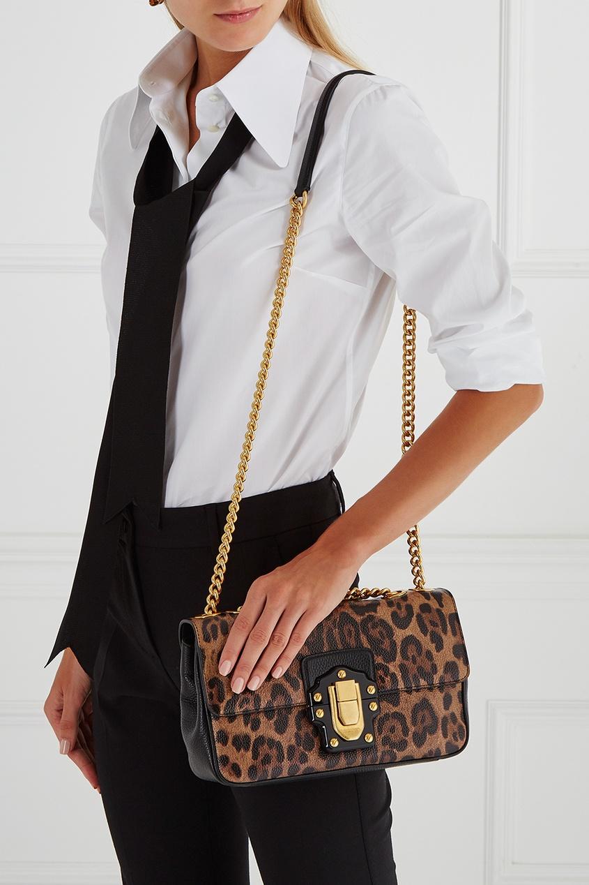 Кожаная сумка Lucia