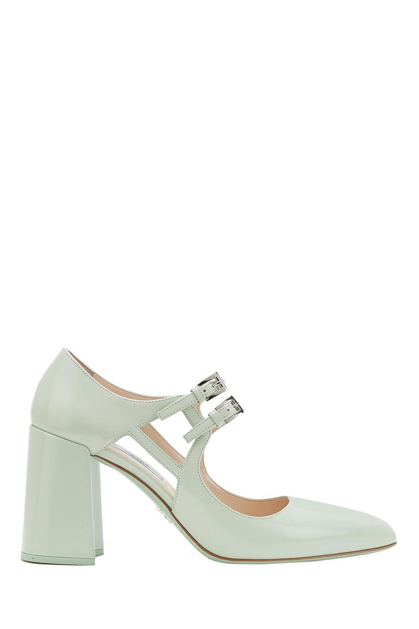 цены на Prada Кожаные туфли в интернет-магазинах