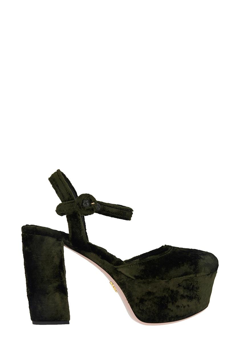 Бархатные туфли