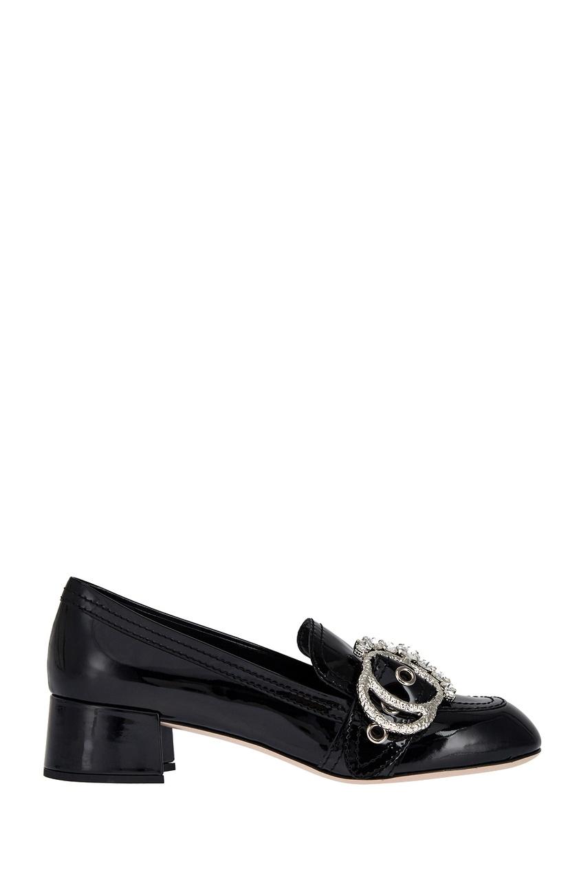 все цены на Miu Miu Кожаные туфли в интернете