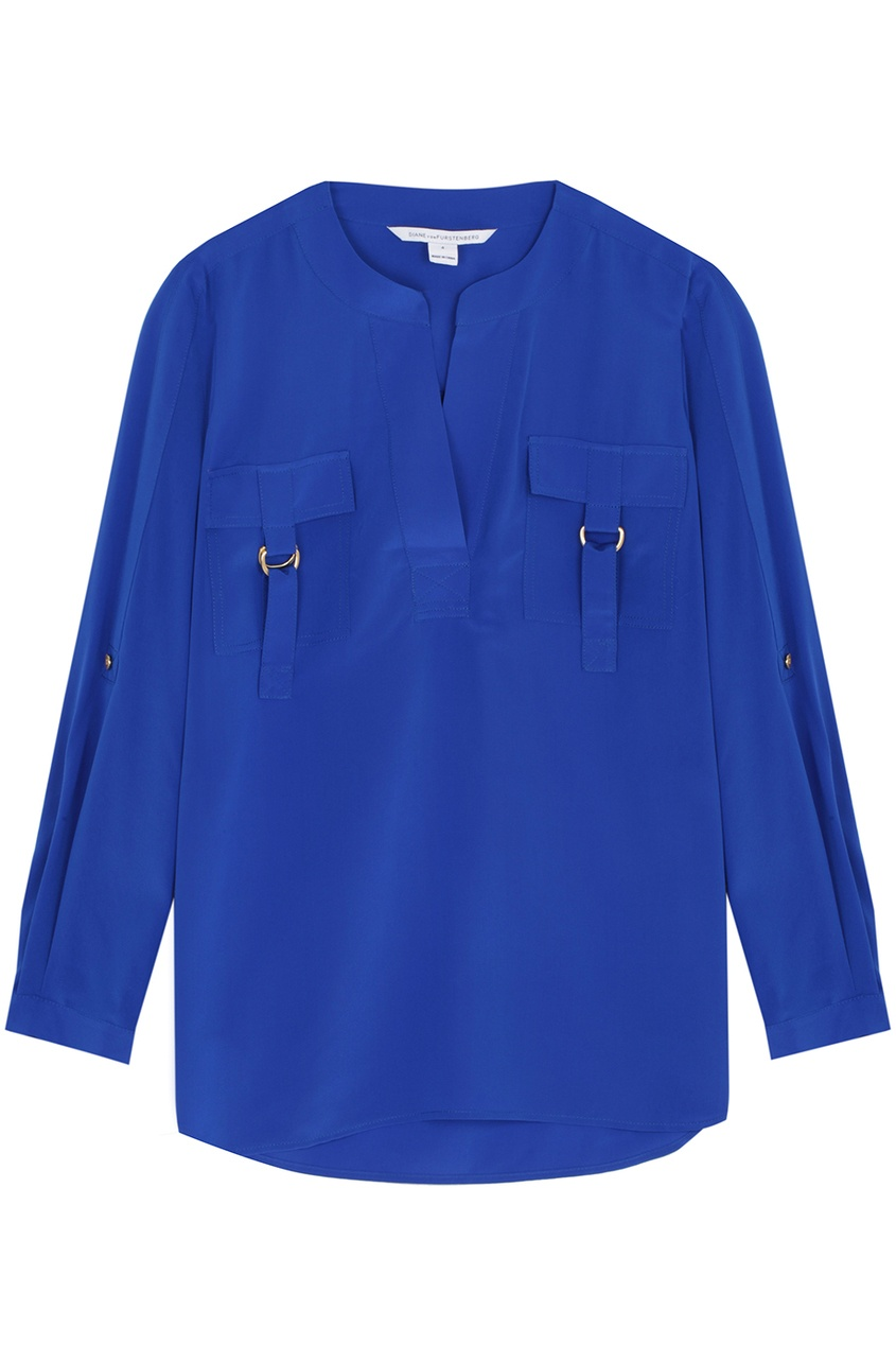 Шелковая блузка Danielle