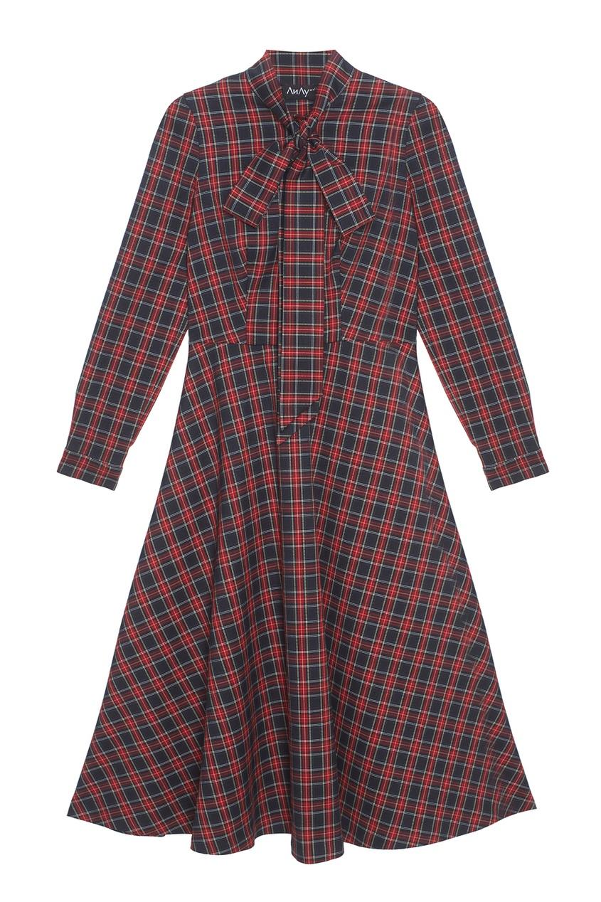 Купить со скидкой Шерстяное платье