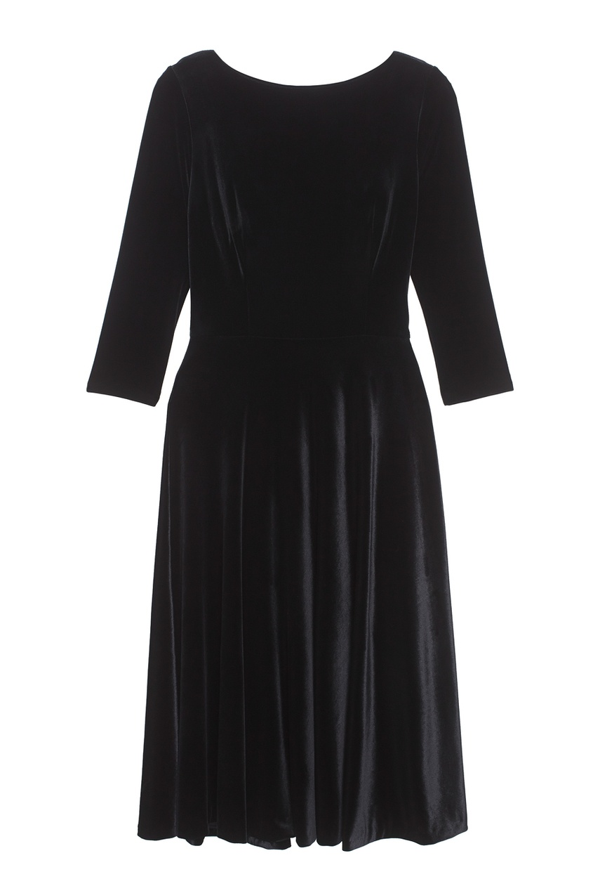 ЛИ-ЛУ Бархатное платье