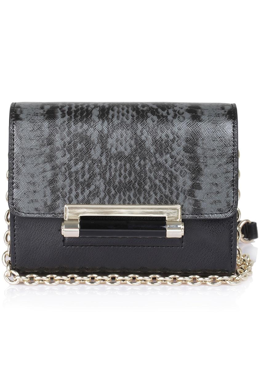 Кожаная сумка Micro Mini Leather