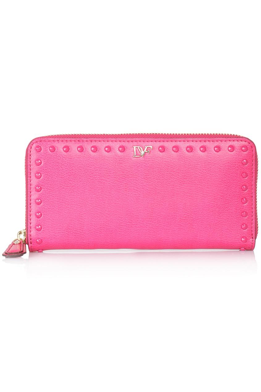 Кожаный кошелек Studded Leather