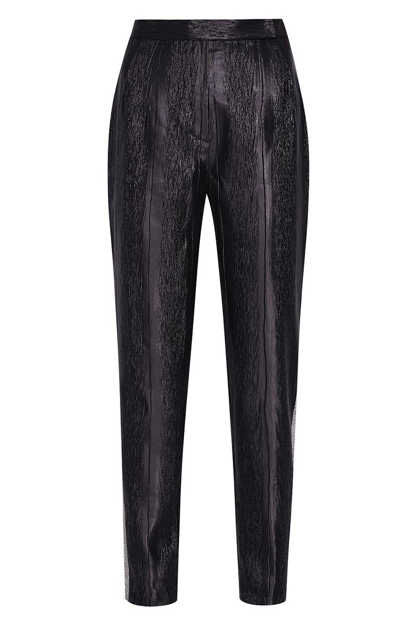 Купить со скидкой Однотонные брюки «Черная кошка»