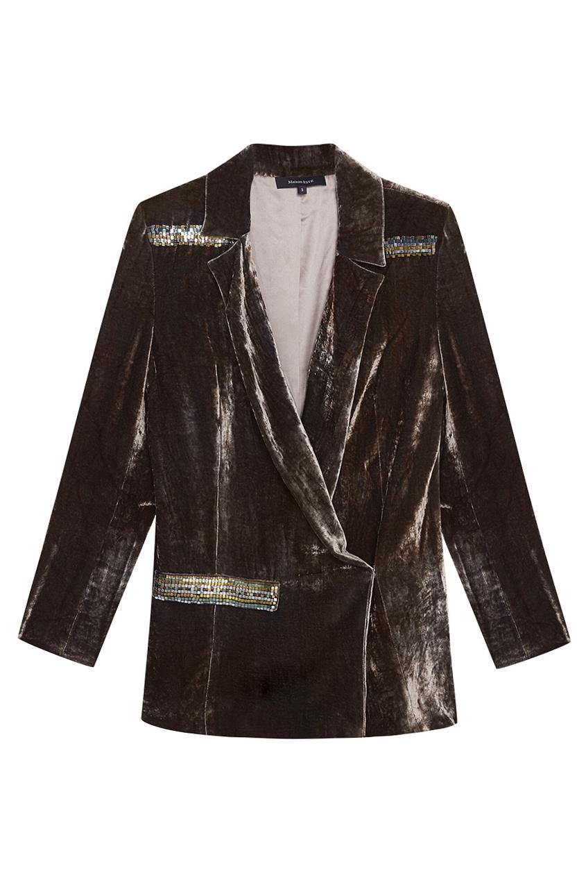 Esve Бархатный жакет «Сьют» жакет 525 жакеты в стиле пиджака