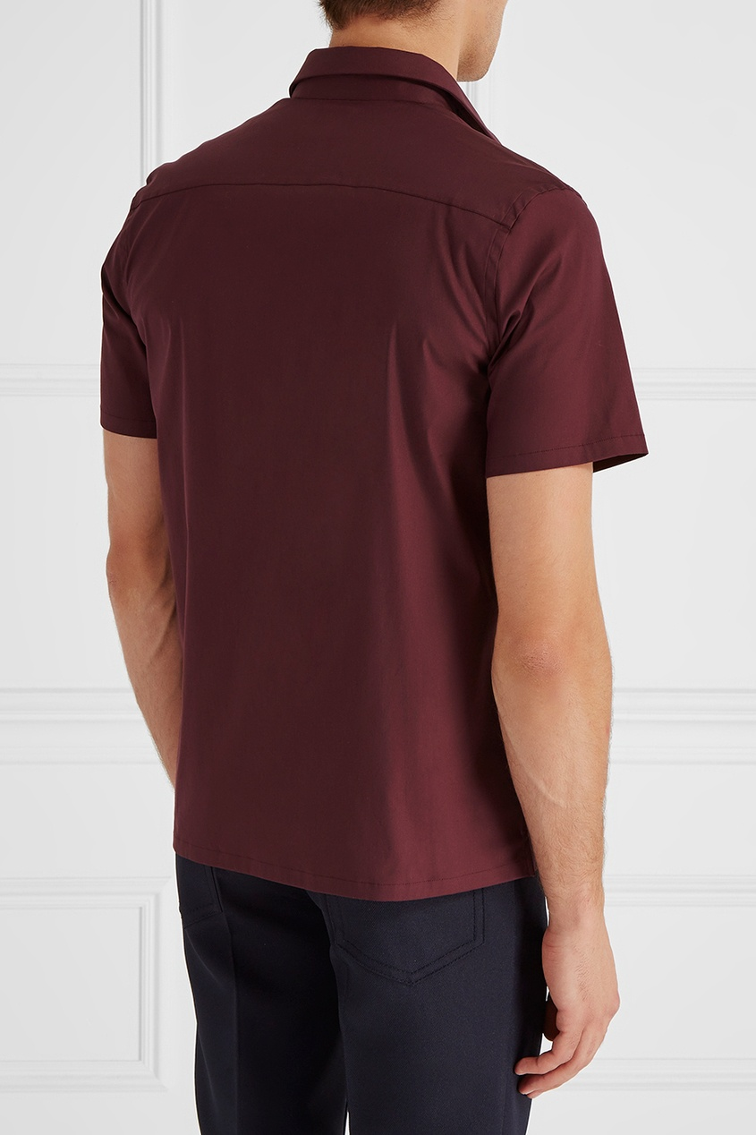 Фото #1: Хлопковая рубашка