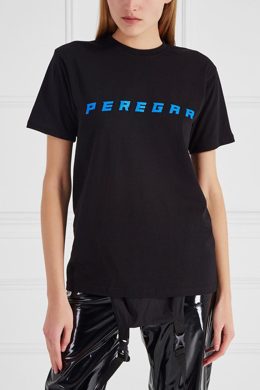 Хлопковая футболка Peregar