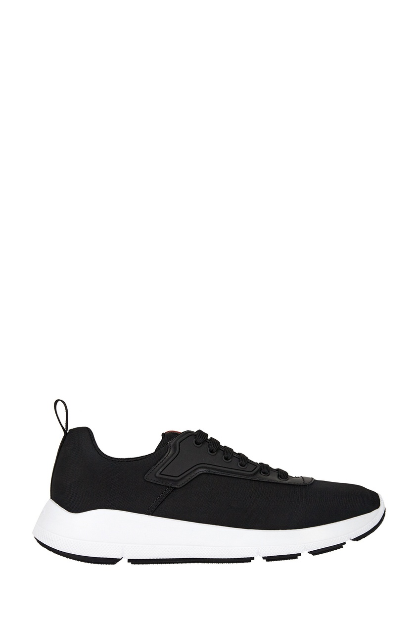 Prada Текстильные кроссовки классика обувь