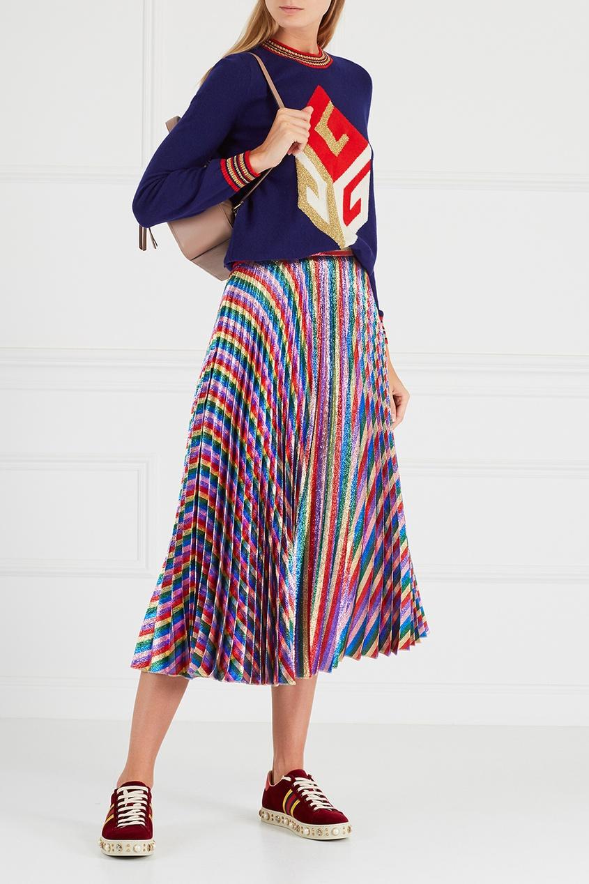 цены на Gucci Бархатные кеды в интернет-магазинах