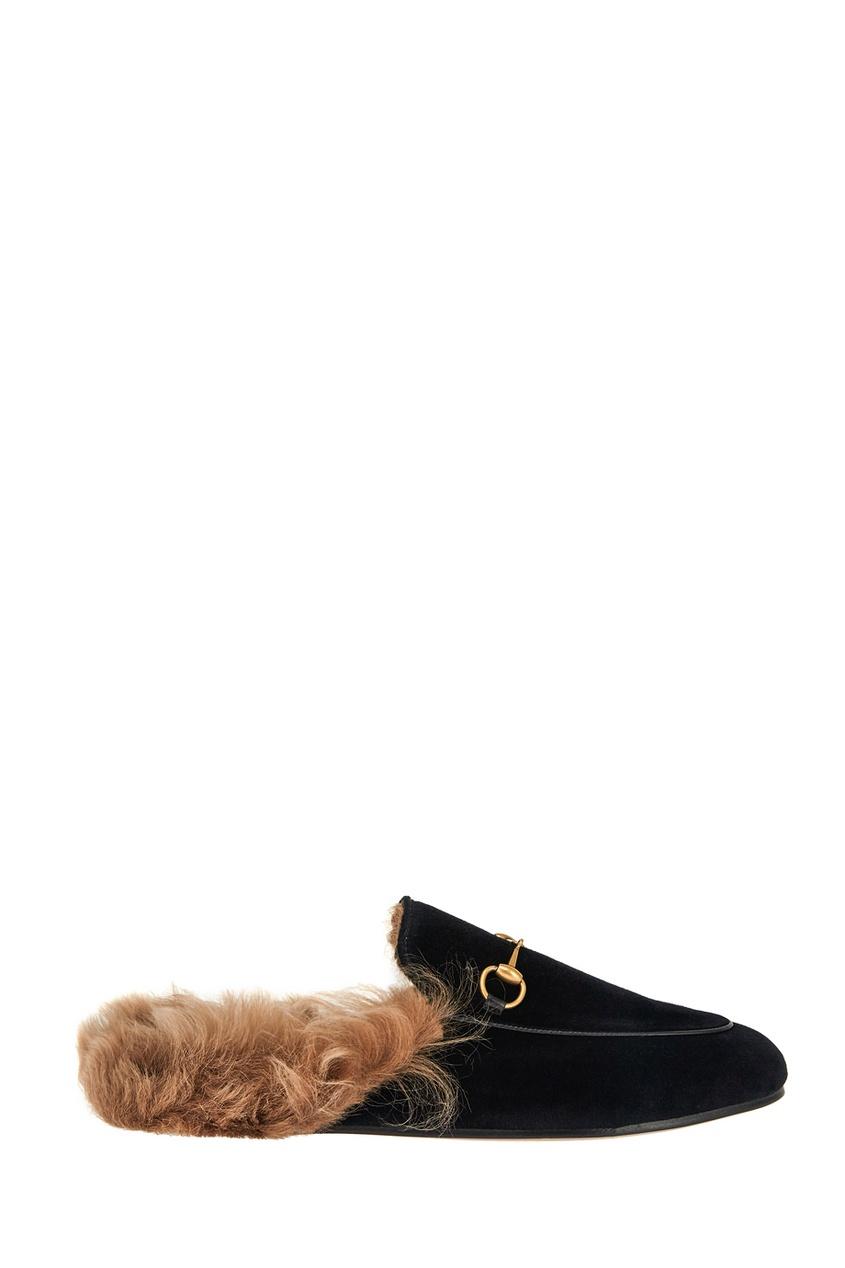 Gucci Бархатные слиперы слиперы мужские в спб