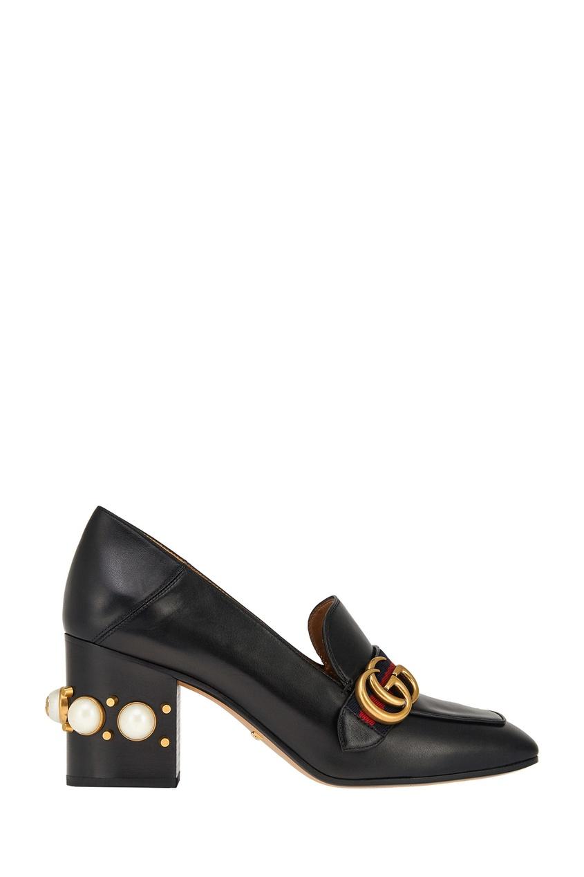 где купить Gucci Кожаные туфли по лучшей цене