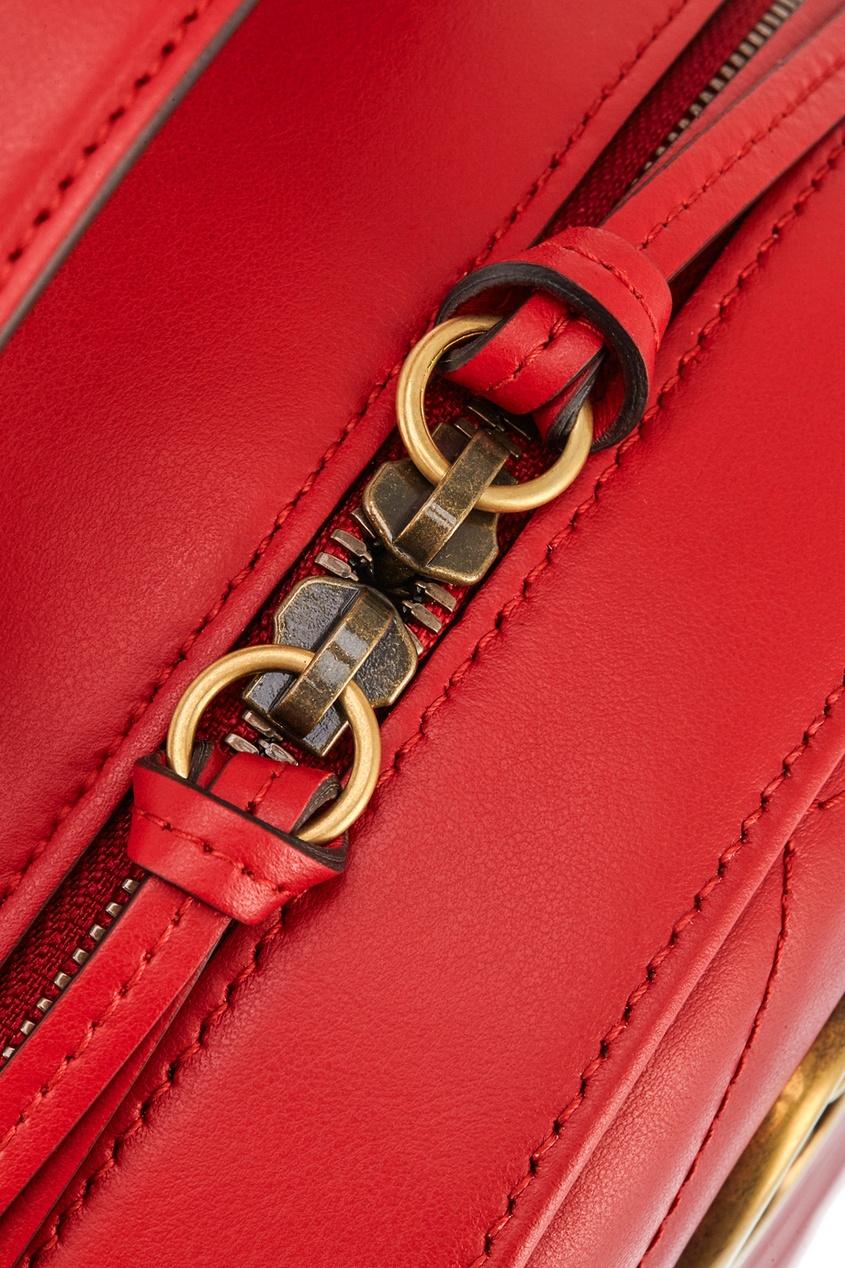 Gucci Кожаный рюкзак GG Marmont кожаный рюкзак