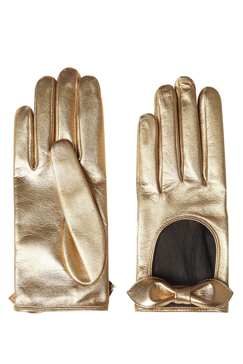 Gucci Кожаные перчатки перчатки stella перчатки