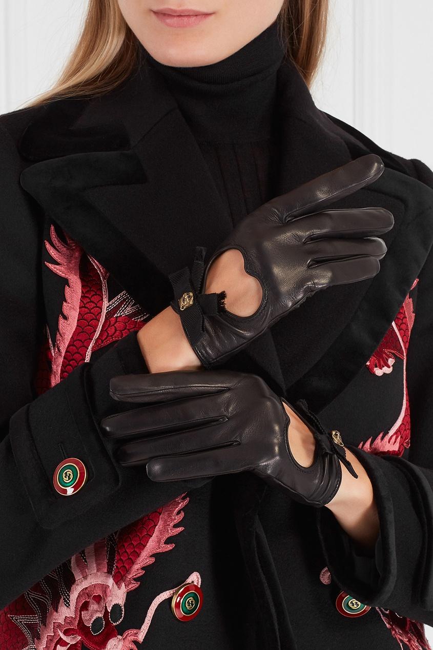 Gucci Кожаные перчатки мужские кожаные перчатки в самаре