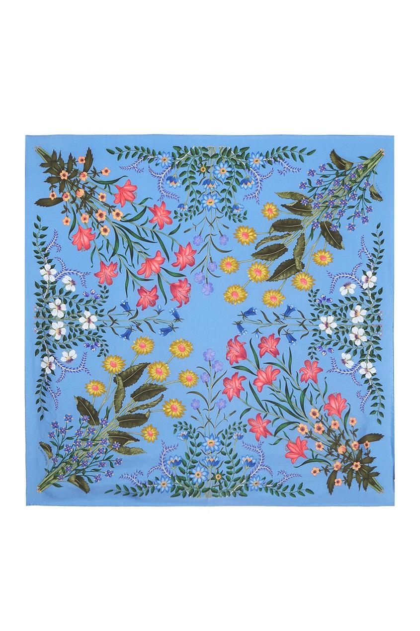 Gucci Шелковый платок gucci туалетная вода flora by gucci fraiche 75 ml