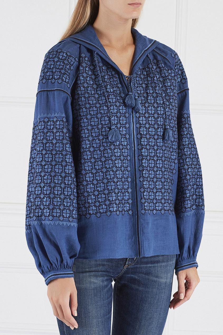 Льняная блузка Strawberry Field