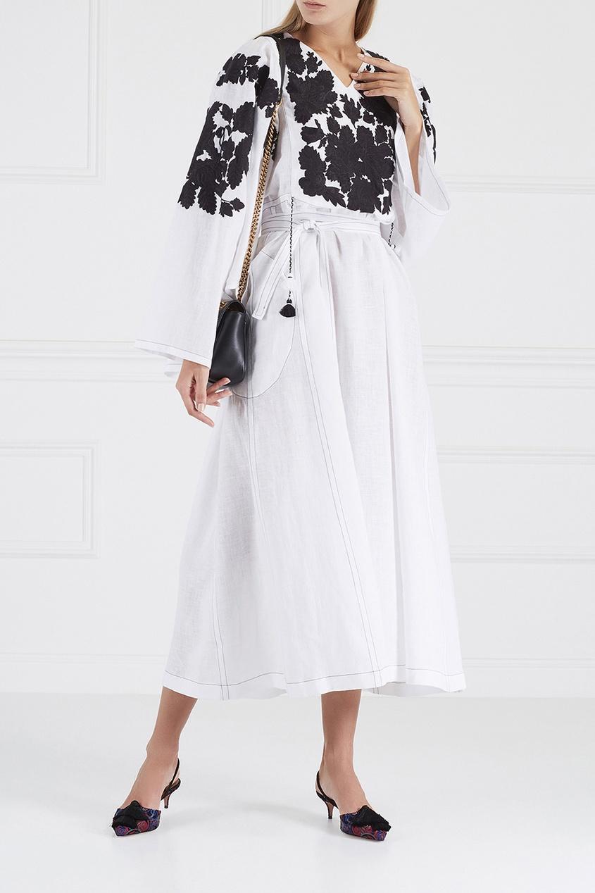 Vita Kin Льняное платье Summer Garden льняное платье фенелла