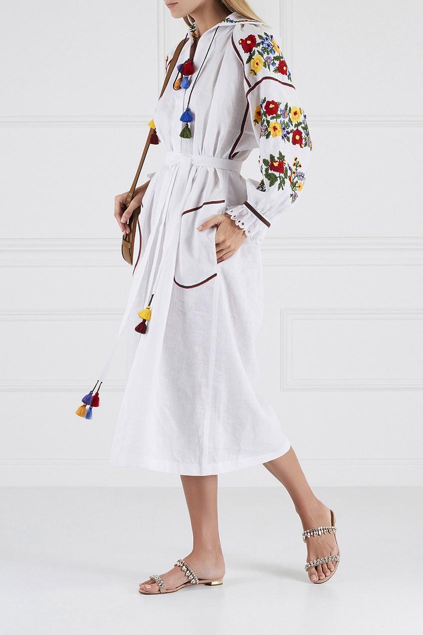 Vita Kin Льняное платье Boucle льняное платье фенелла