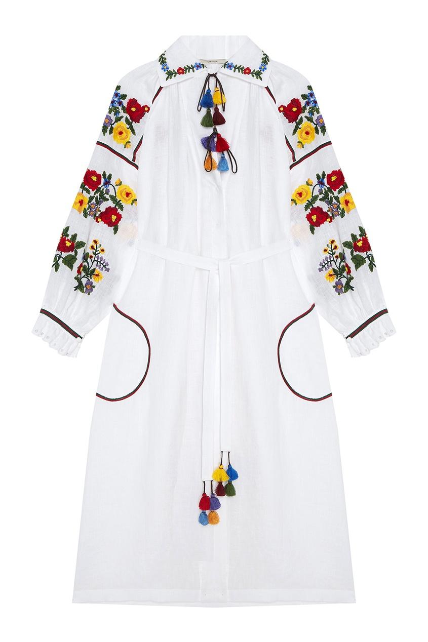 где купить Vita Kin Льняное платье Boucle по лучшей цене