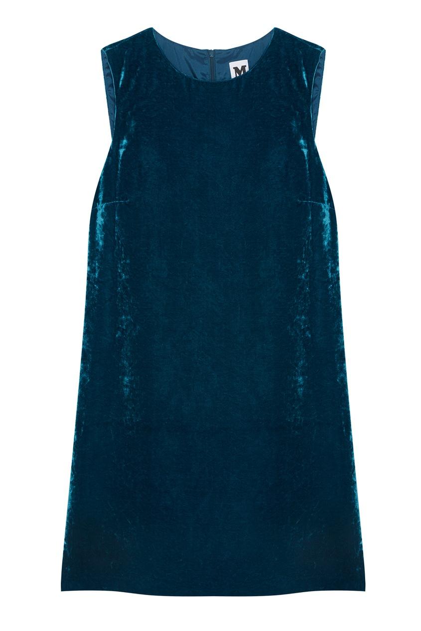 M Missoni Бархатное платье