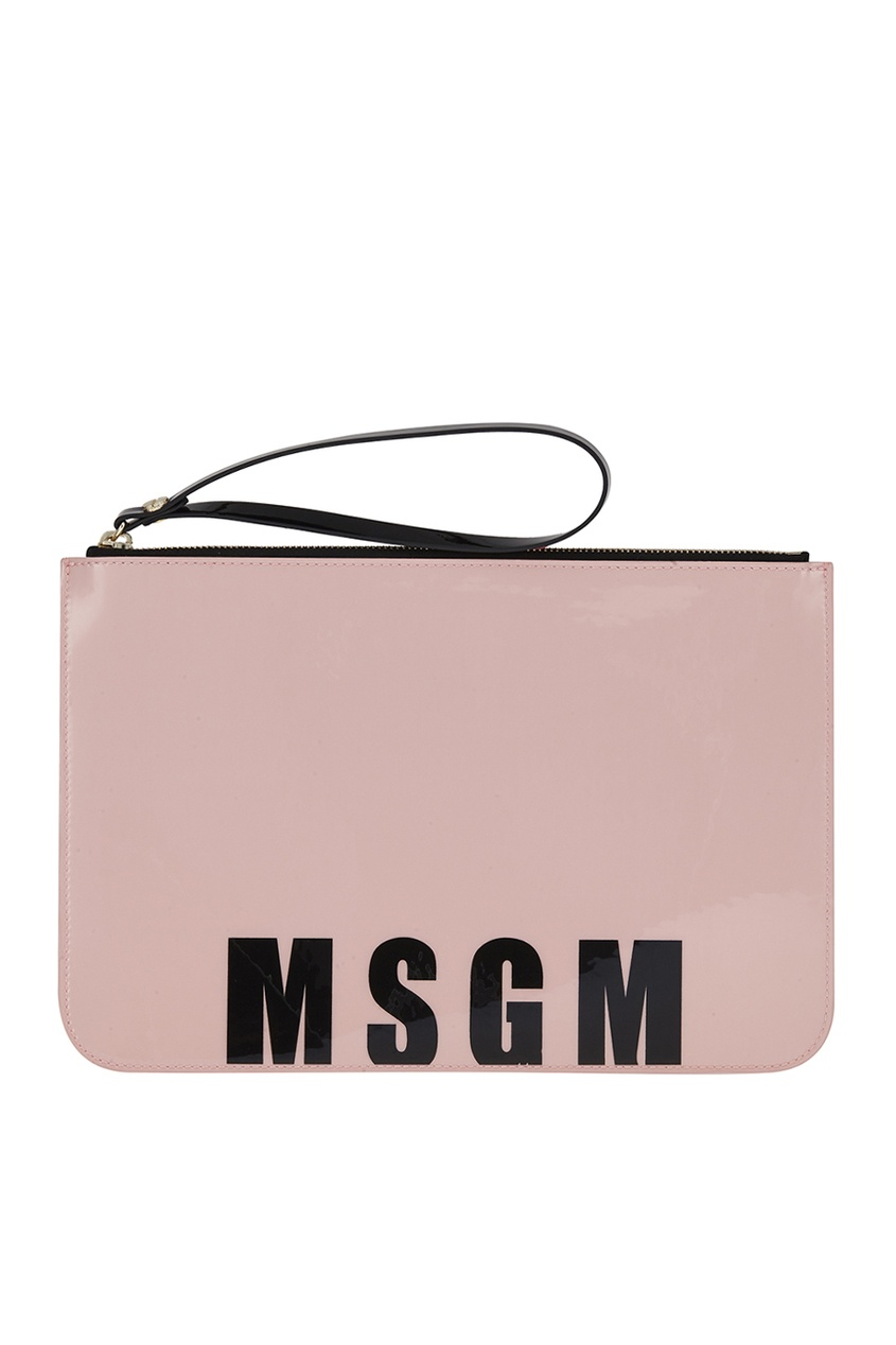 Сумка с логотипом MSGM