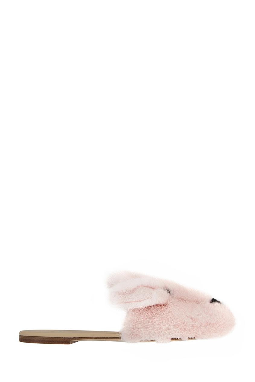 Joshua Sanders Меховые слиперы меховые рукавицы из овчин