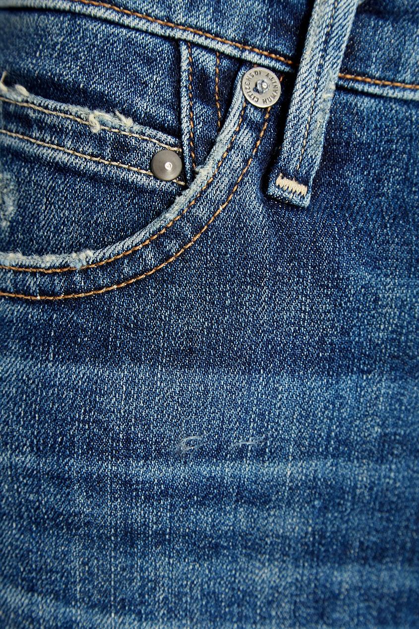 женские джинсы citizens of humanity, синие