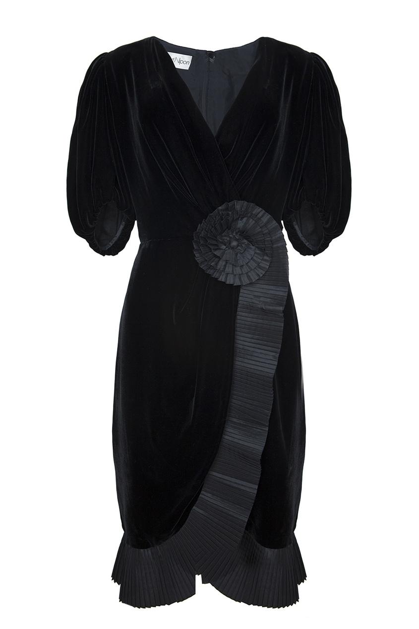 Бархатное платье (80-е гг.)