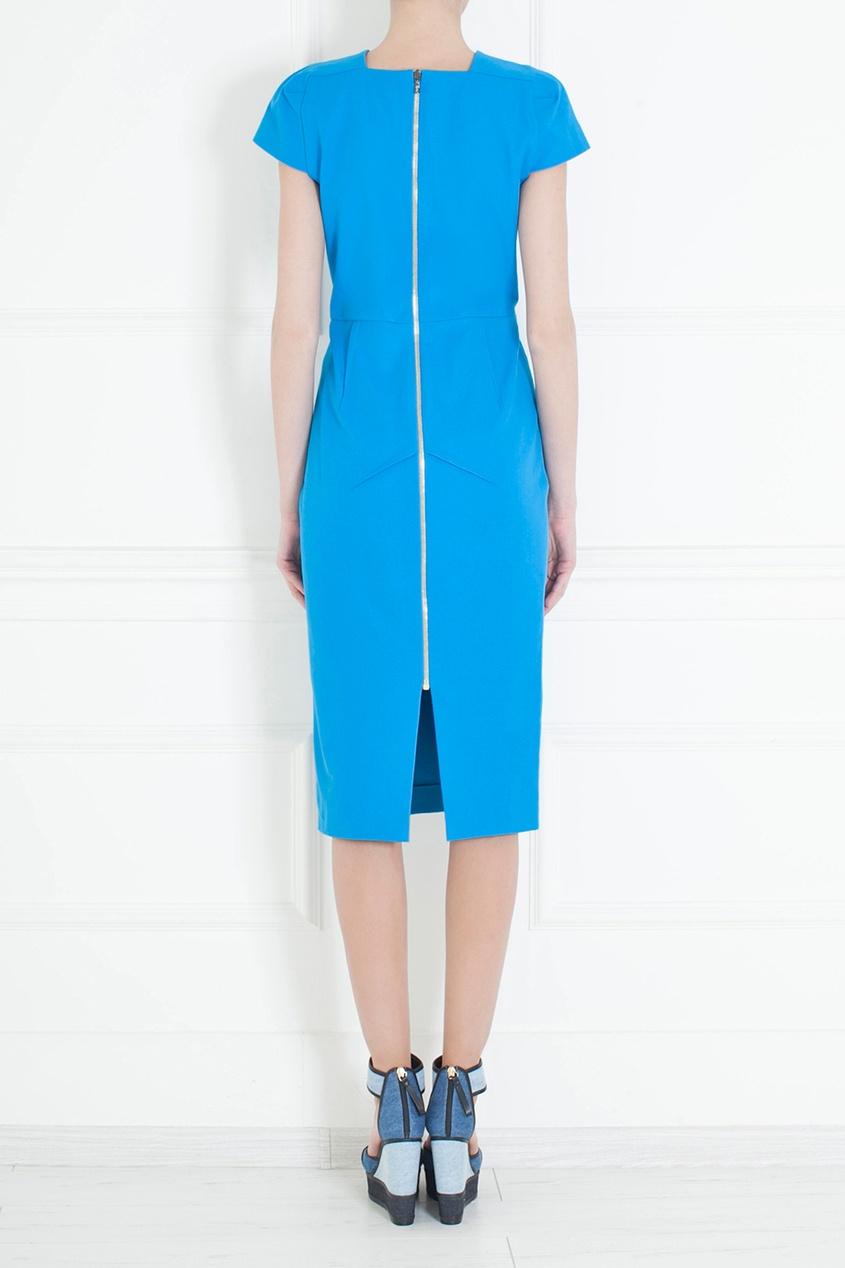 Хлопковое платье-футляр от AIZEL