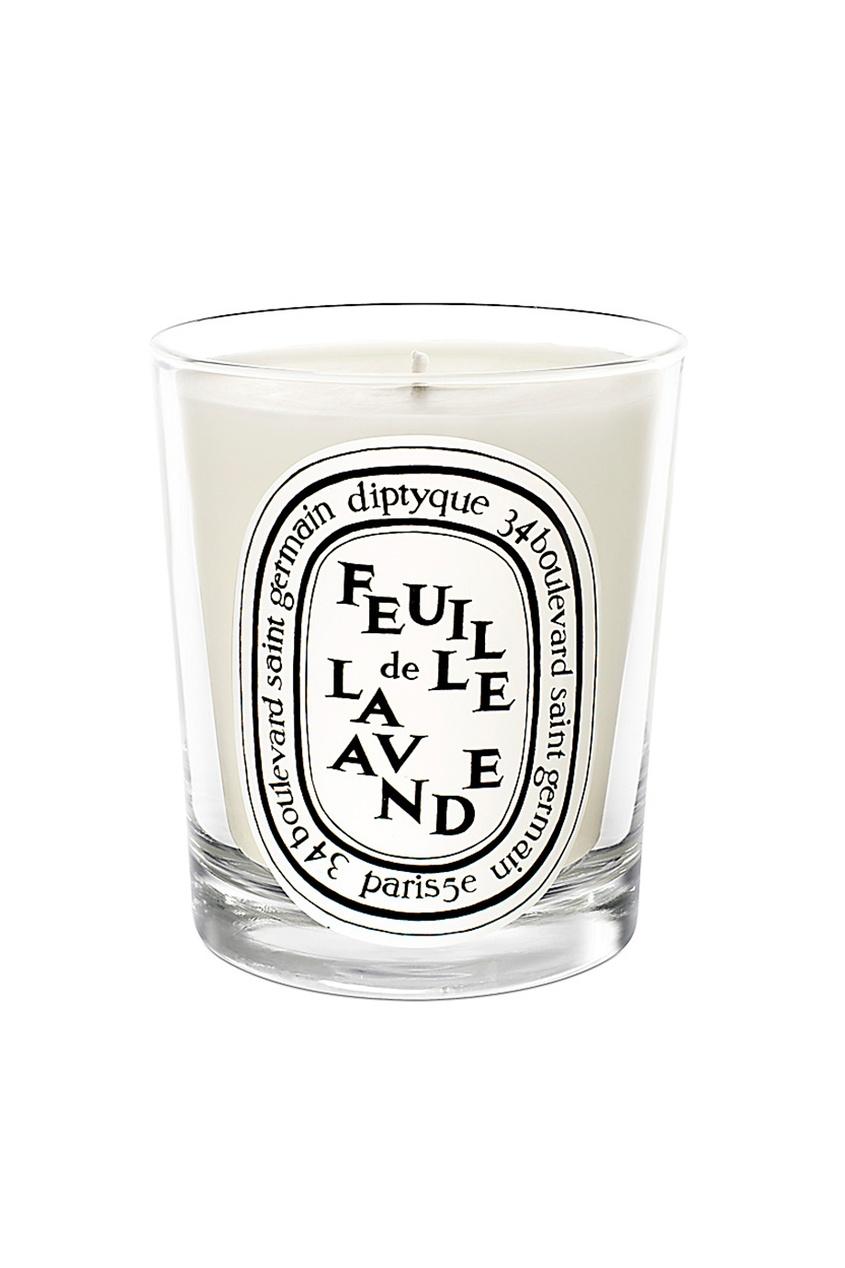 Diptyque Свеча Feuille de Lavande feuille 0544 салатник овальный v 200мг цвет белый с красным
